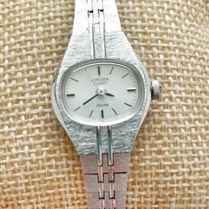Citizen Seven Ladies Brushed Silver Watch